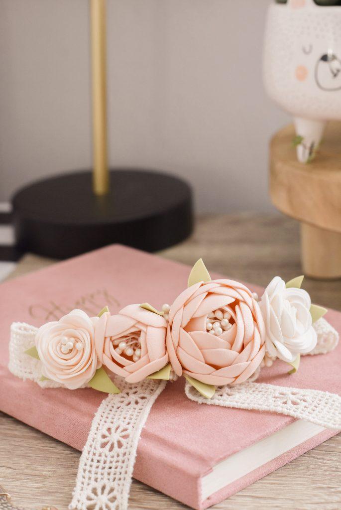 kwiaty foamiran
